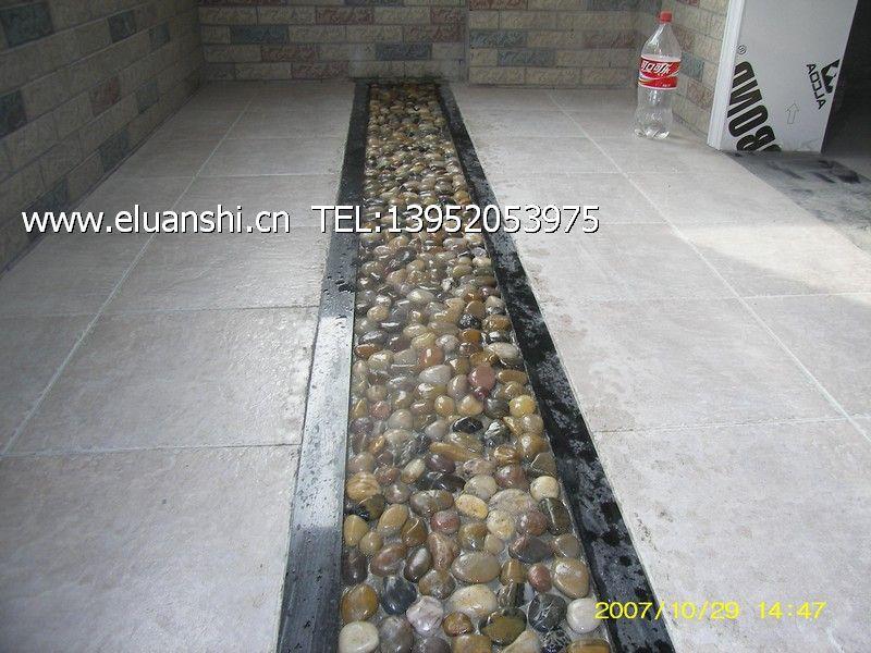 鹅卵石室内地面-鹅卵石室内装修图片-南京浩天鹅卵石